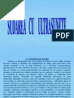 Sudarea Cu Ultrasunete