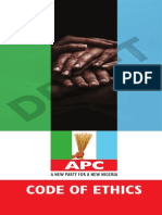Code of Ethics of the All Progressives Congress