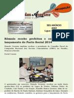 Rômulo recebe prefeitos e convida para lançamento do Pacto Social 2014