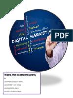 Online and digital marketing