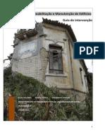 Manual de reabilitação de edifícios