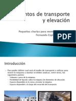 Elementos de Transporte