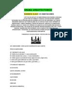 Programa Arquitectonico Hotel