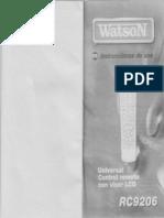 Mando Watson RC9206