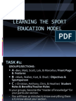 sport education model lecture-1