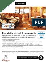 Google Fotos de negocios - Producto