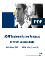 EP ASAP Implementation