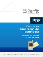 Guia Tecnologia - Perfit Email Marketing