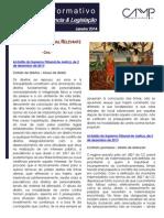 Newsletter CAMMP Intercalar Janeiro 2014