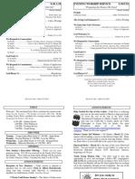 Cedar Bulletin Page - 03-16-14