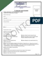 01 Application Fullbright