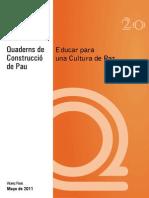 Educar Cultura Paz