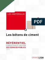 Betons de Ciment