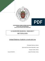 Unidad Didáctica AUDICION Y CINE
