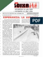 LLOIXA. Número 76, noviembre-diciembre/novembre-desembre, 1989. Butlletí Informatiu de Sant Joan. Boletín informativo de Sant Joan.  Autor