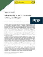 KRONENFELD - What Kinship is Not
