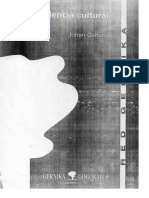Violencia Cultural. Johan Galtung