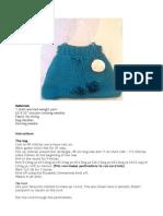 Knitting Tote Pattern