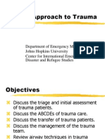 3.5 the Approach to Trauma - 2 Hour Lecture-tz