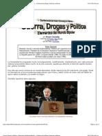 Guerra, Drogas y Política - Elementos del Mundo Bipolar - Conferencia de Noam Chomsky en México