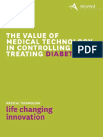 The Value of Medical Technology in Controlling and Treating Diabetes