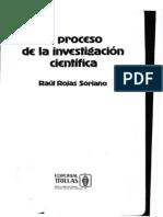138570851 Raul Rojas Soriano El Proceso de La Investigacion Cientifica COMPLETO OCR