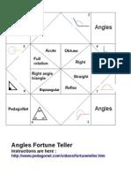 Angles Fortune Teller