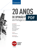 20 Anos Opiniao Publica Portugal eBook