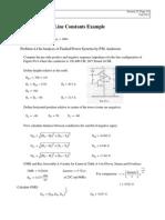 Ejemplo de Calculo de Lineas de Transmisión de Potencia