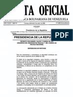 20080409, DRVF Ley Orgánica del Servicio de POLICÍA