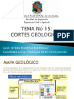 15. Cortes Geologicos