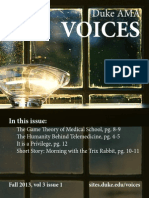 Voices Fall 2013