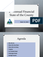 Douglas County Financial State of the County presentation