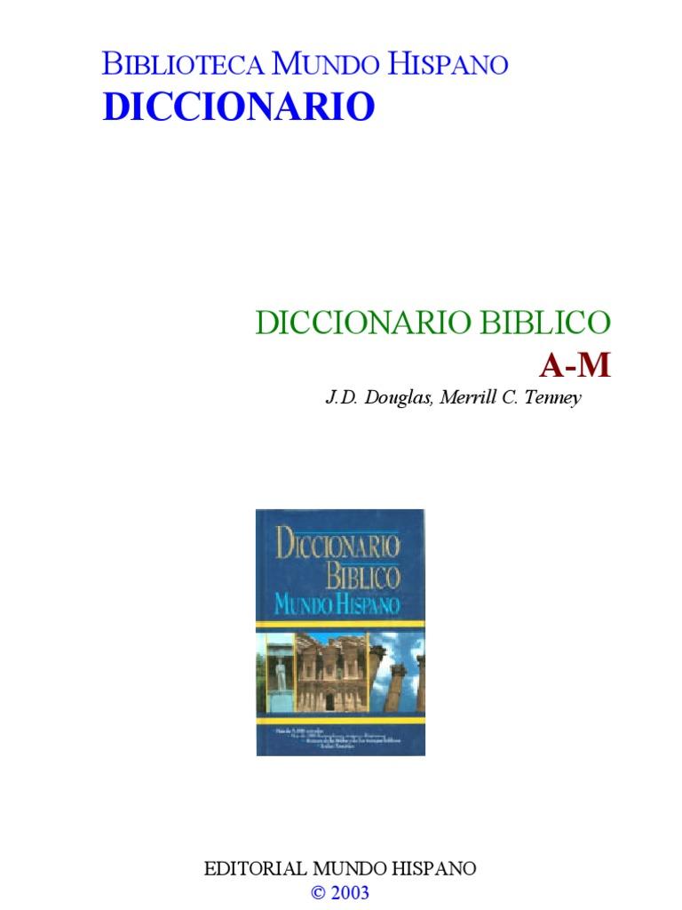 DICCIONARIO BIBLICO PARTE 1