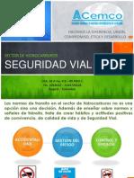 Seguridad Vial Sector Hidrocarburos Nov-2012