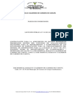PLIEGO DE CONDICIONES DEFINITIVO LICITACIÓN-BIOMEDICOS
