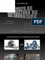 Proyecto de Manufactura de Una Chumacera