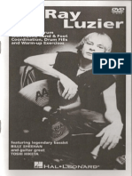 Ray Luzier Booklet