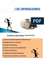 Gestion de Operaciones ( Clase 2)