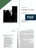 Roman Jakobson - Language in Literature