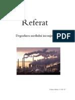Degradarea mediuliu inconjurator