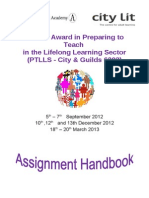 Assignment Handbook