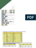 Ejemplos de Funciones y Formulas