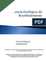 Ficha ppt 010 Teoría Ecológica de  Bronfenbrenner