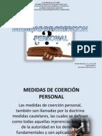 PRESENTACION MEDIDAS DE COERCIÓN PERSONAL