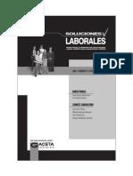 """Gaceta Jurídica 2014 """"Soluciones Laborales Mes de Febrero 2014"""""""