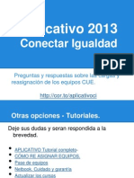 Aplicativo 2013