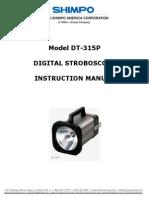 Manual Lampara Estroboscopica DT-315P