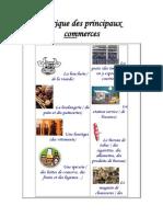 Lexique Des Principaux Commerces