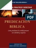 MANUAL PRACTICO DE PREDICACION BIBLICA